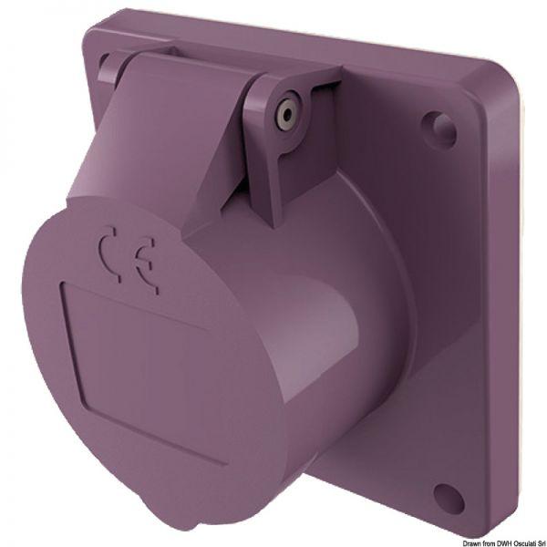12/24 V Steckdose/Stecker mit Schraubklemmen