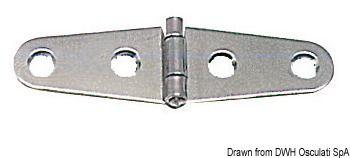 Scharniere, 1,7 mm