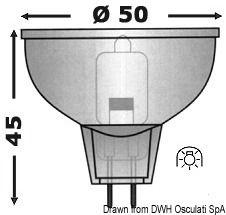 Halogen-Glühbirnen mit Kaltlichtspiegel, G4-Halterung