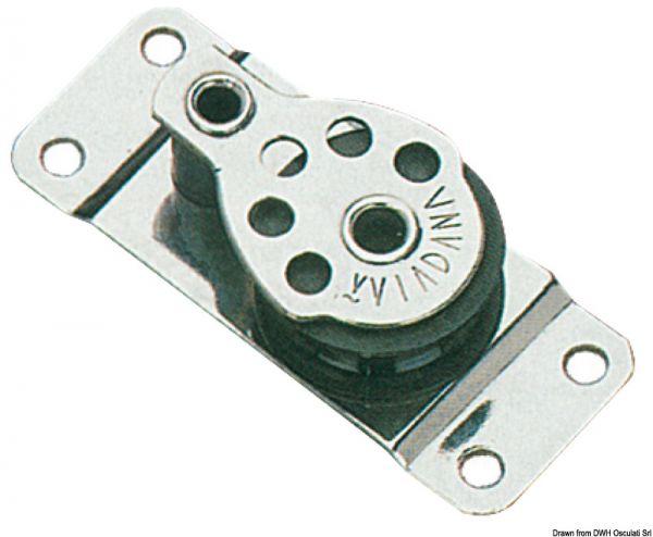 VIADANA Mikroblöcke Serie Regatta für Seil bis8 mm