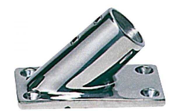 Relingstützenverbindung, rechteckig